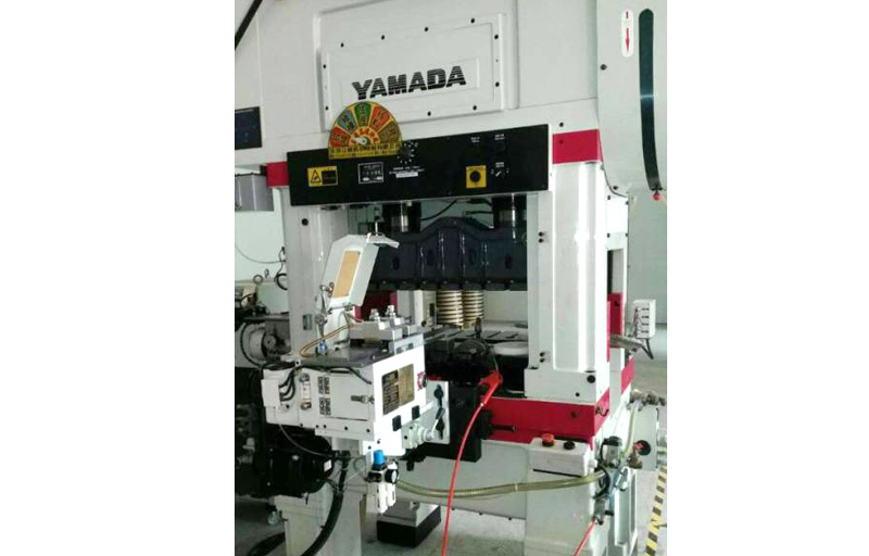 Japan YAMADA punch machine with JoeSure clamp feeder